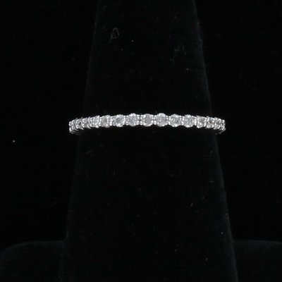 14KT .70 CT TW DIAMOND ETERNITY BAND