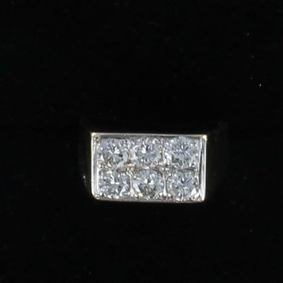 18KT 2.0 CT TW DIAMOND RING