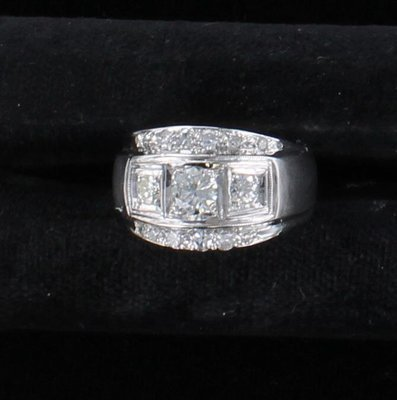 14KT 1.60 CT TW DIAMOND RING