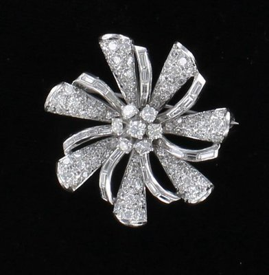 PLATINUM 2.0 CT TW DIAMOND PIN