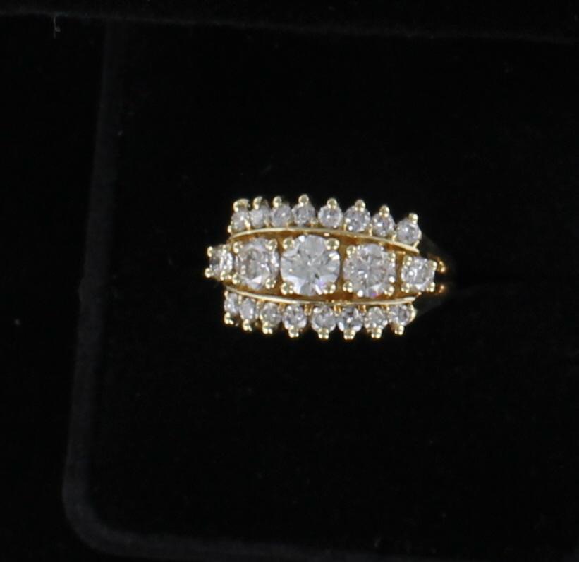 14KTY 1.30 CT TW DIAMOND RING 099-1660
