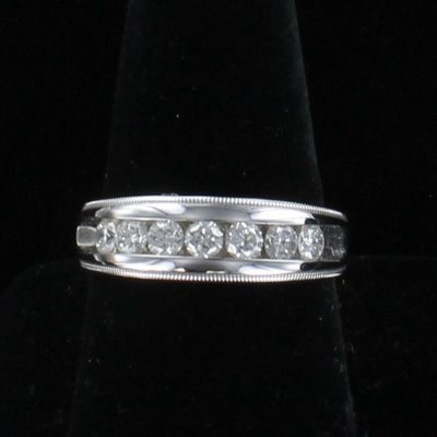 14KT 1.25 CT TW DIAMOND BAND
