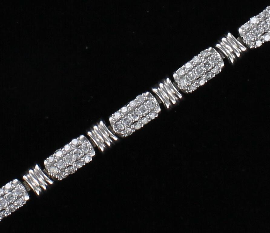 14KT DIAMOND BRACELET 205-2326