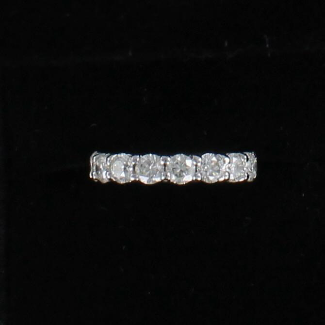 14KT DIAMOND ETERNITY BAND, SZ 5 198-22953