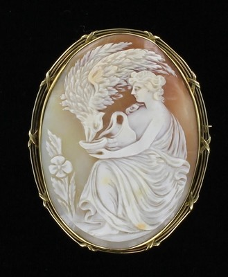 14KT VICTORIAN CAMEO