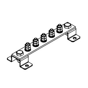 Шина заземления ГЗШ.01-430.210.5М8-ГЦ