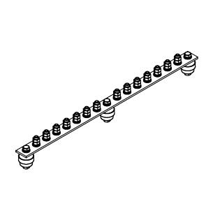 Главная заземляющая шина ГЗШ.02-430.510.14М8-ГЦ