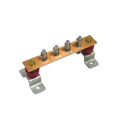 Главная заземляющая шина ГЗШЛ.06-430.180.4М8-М