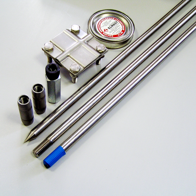Комплект заземления из нержавеющей стали КЗН-13.1-01 (18) 13 метров