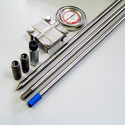 Комплект заземления из нержавеющей стали КЗН-12.2-01 (18) 12 метров (2х6)