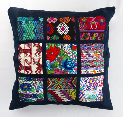 Multi-Huipil Cushion Cover
