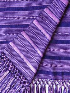 "10"" Wide Scarf - Purple, Lilac"