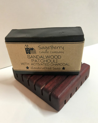 Sandalwood Patchouli with Activated Charcoal