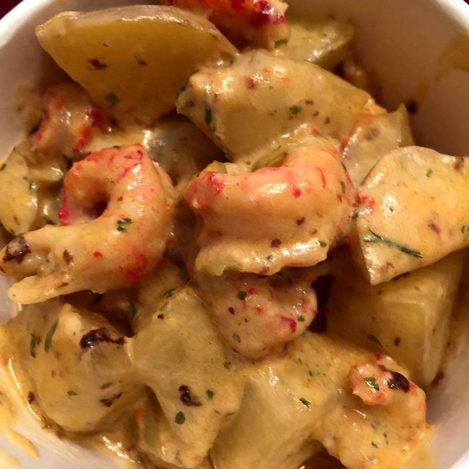 CRAWFISH POTATOES