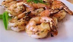 Sweet Basil Shrimp