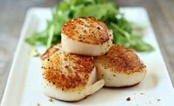 Garlic Herb Scallops