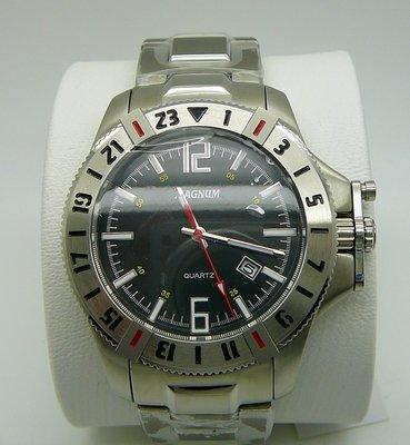 MAGNUM Racing, Black Dial, Date
