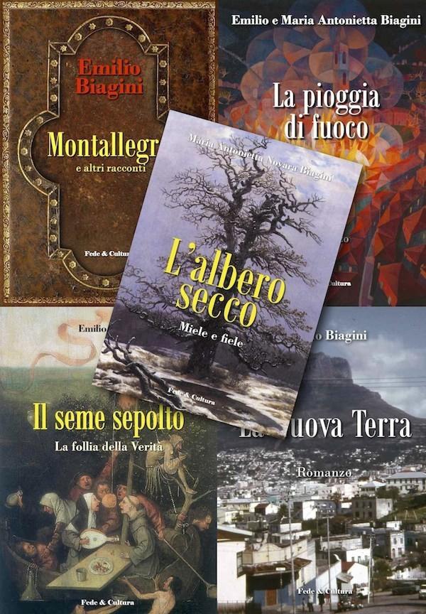 Collezione 5 romanzi Biagini