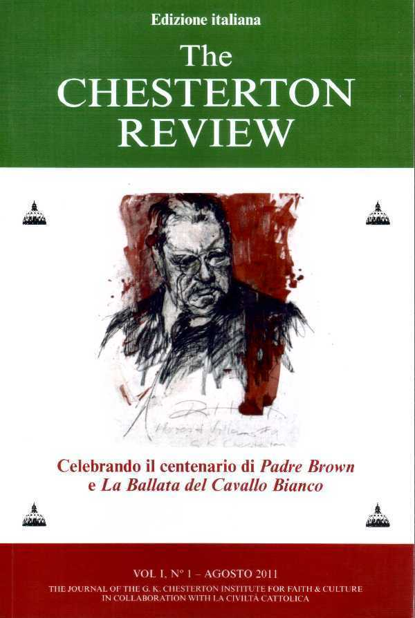 The Chesterton review - Vol I, N°1 - agosto 2011