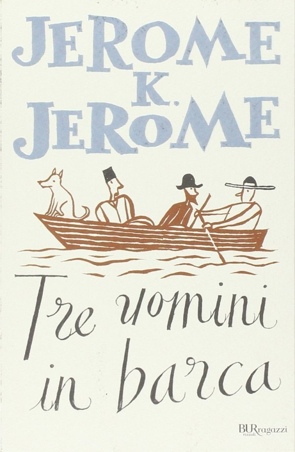 Tre uomini in barca
