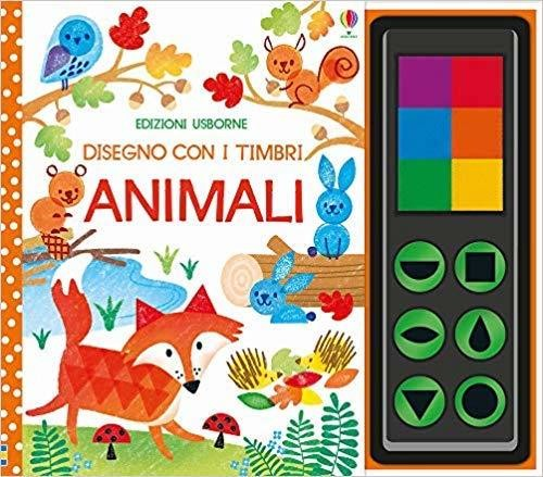 disegno con i timbri Animali