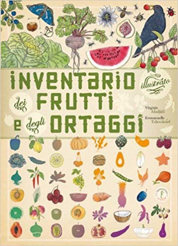 Inventario dei frutti e degli ortaggi illustrato