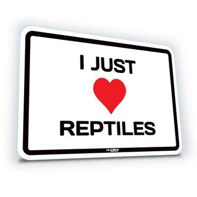 I Just Love Reptiles