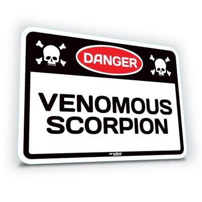 Venomous Scorpion