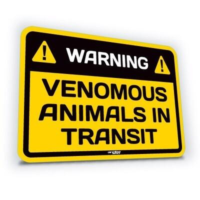Venomous Animals in Transit