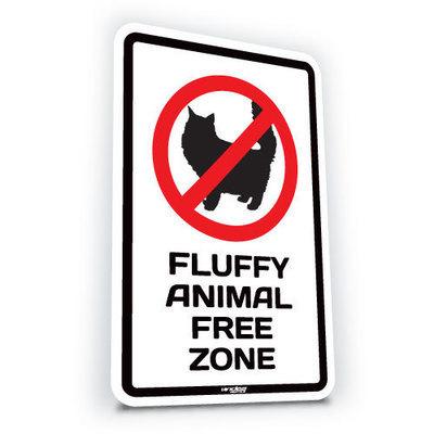 Fluffy Animal Free Zone