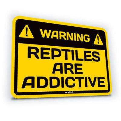 Reptiles Are Addictive