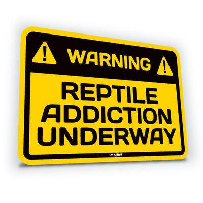 Reptile Addiction Underway