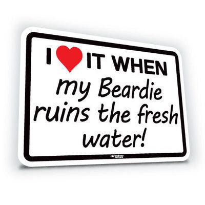 I Love It When My Beardie...