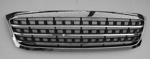 Black Chrome Square Look Grille 05-10