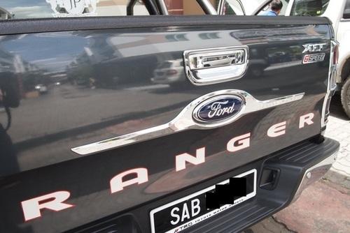 Ford Ranger Tail Gate Chrome Garnish