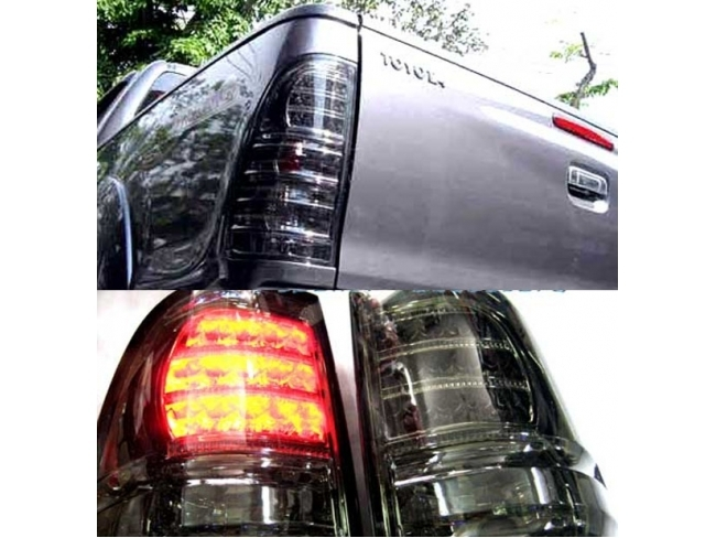 2014 Toyota Hilux Tail lights dark pair 0000069