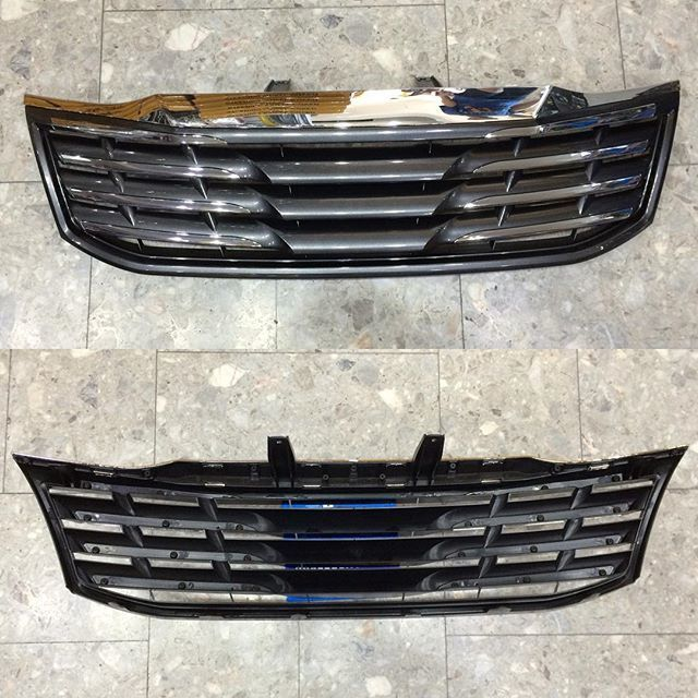 2014 Toyota Hilux LX Style front grill black 0000071