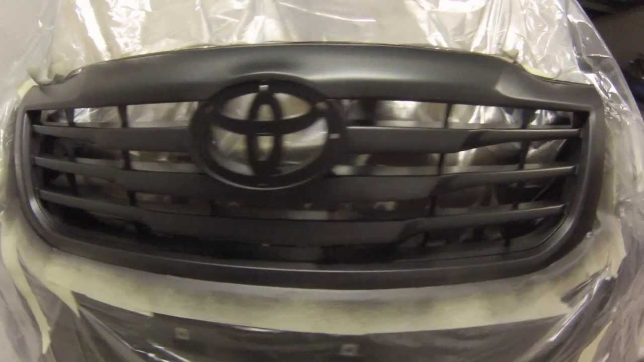 2014 Toyota Hilux Front Grill Black 0000072
