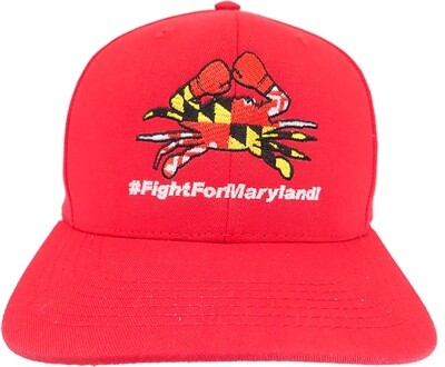 Fight for Maryland Boxing Crab Hat
