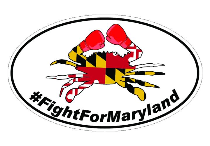 Fight For Trump Boxing Crab Sticker