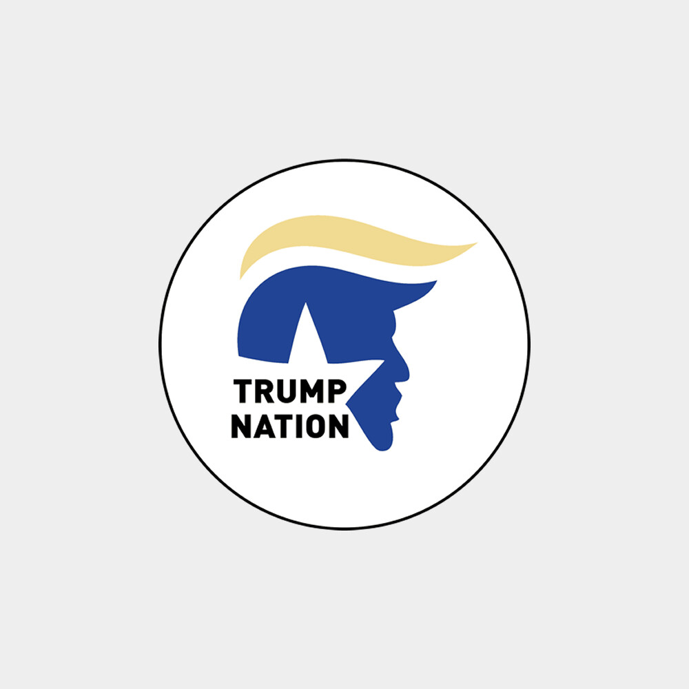 "Trump Nation 4"" Round Sticker"