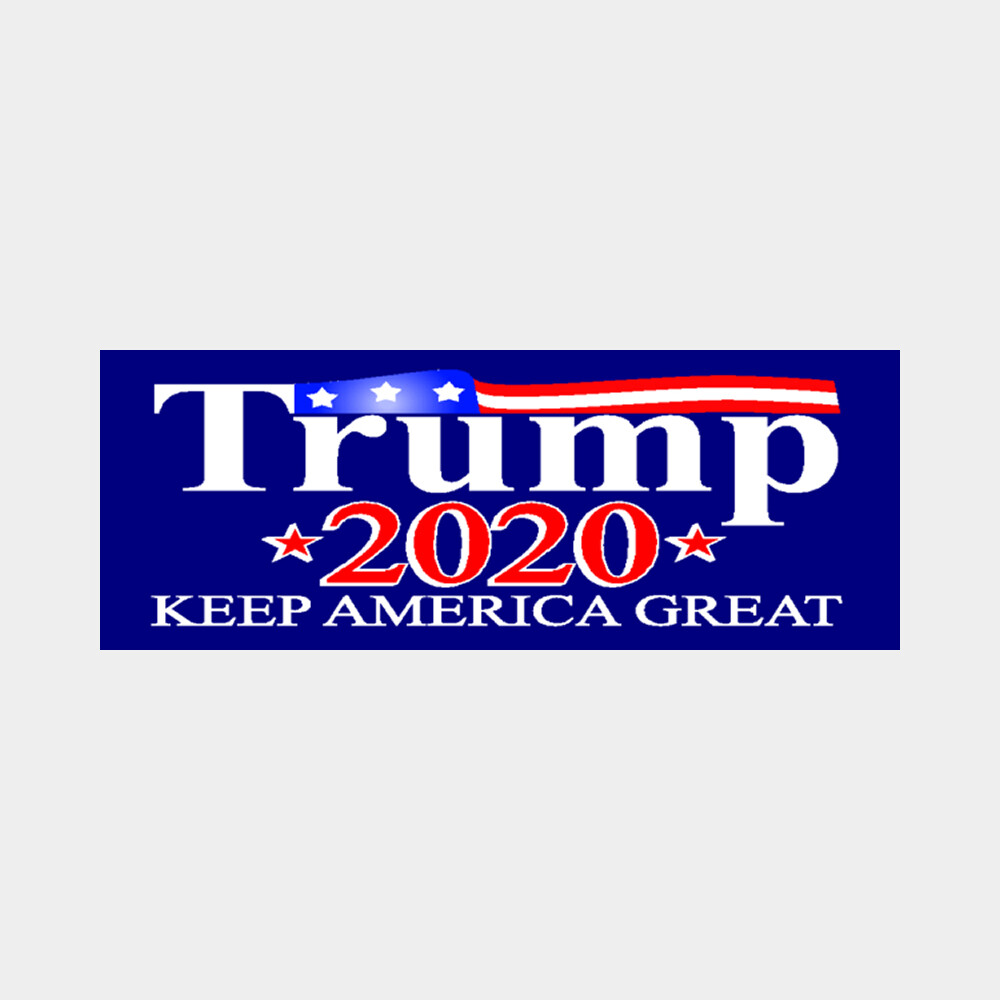 "Trump 2020 Keep America Great 8"" x 3"" Sticker"