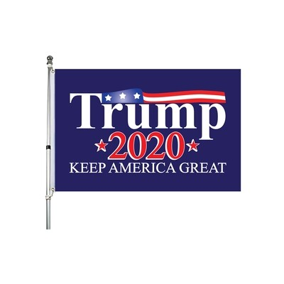 Trump 2020 Keep America Great 2' x 3' Flag