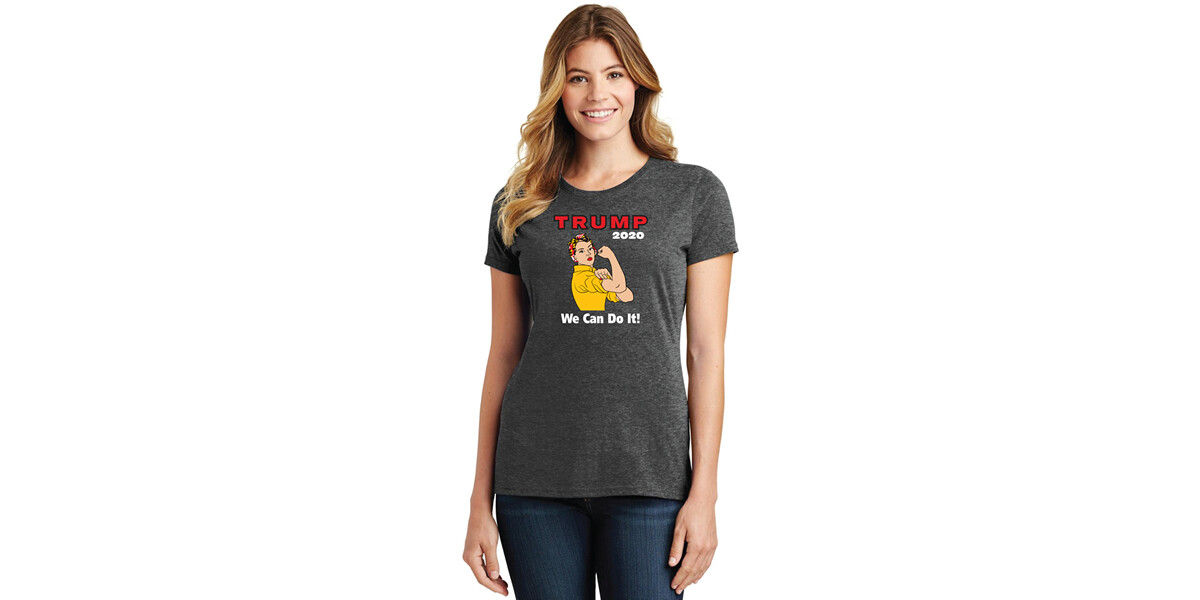 Maryland Women for Trump 2020 Rosie the Riveter T-Shirt