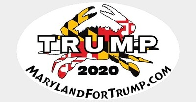 Maryland for Trump 2020 Crab 3