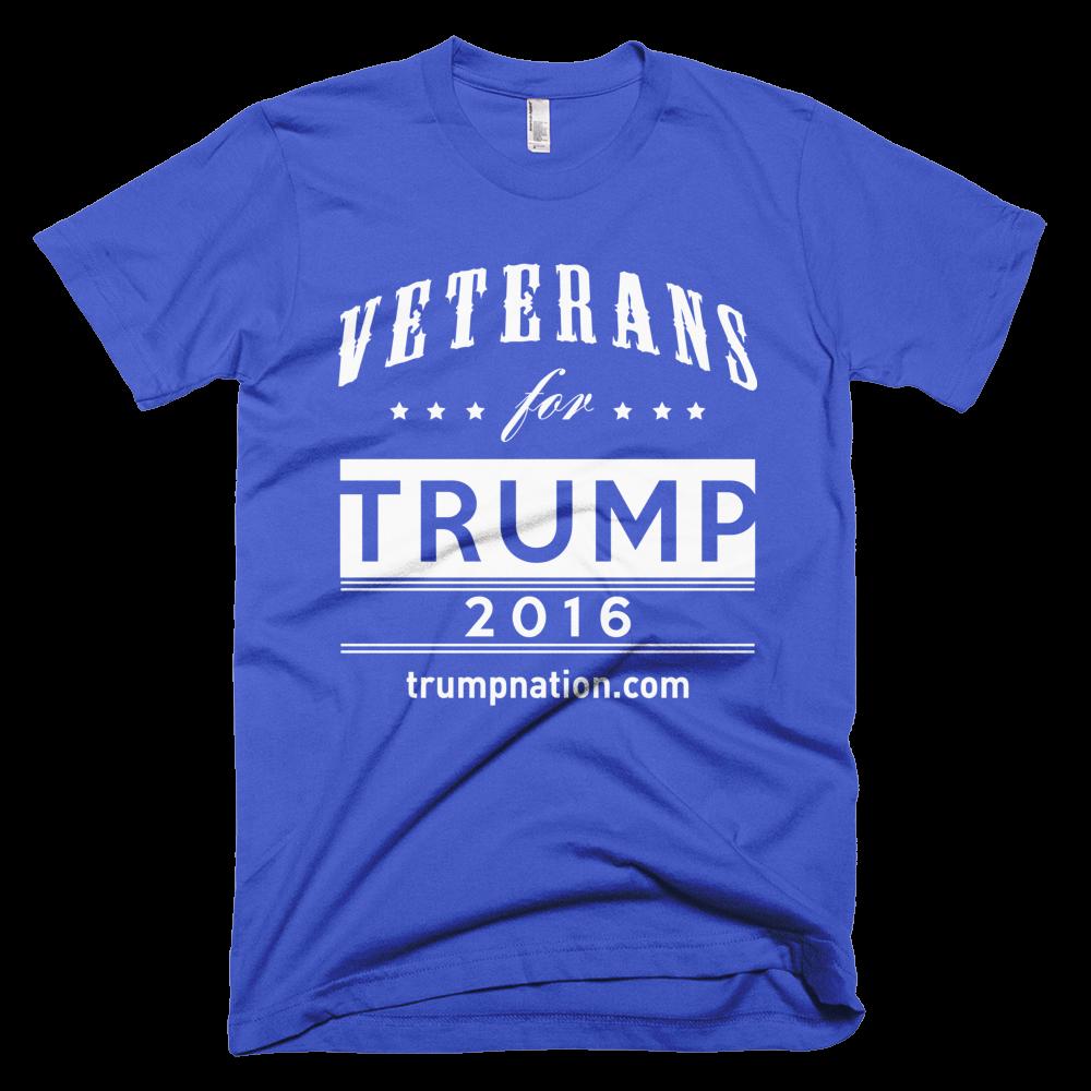 Veterans for Trump - All American T-Shirt
