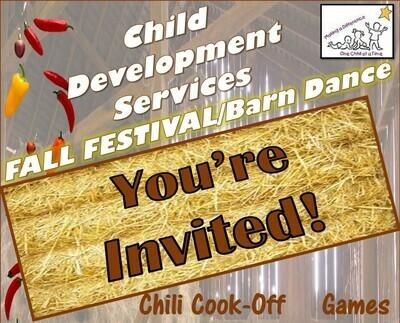 Fall Festival Single Admission (w/Children)