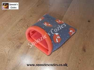 DOUBLE COZIE - Grey Fox/Orange