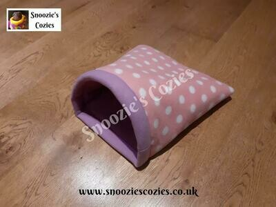 DOUBLE COZIE - Pink Spot/Lilac