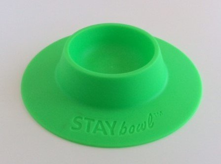 STAYbowl™ tip-proof bowl (GREEN)